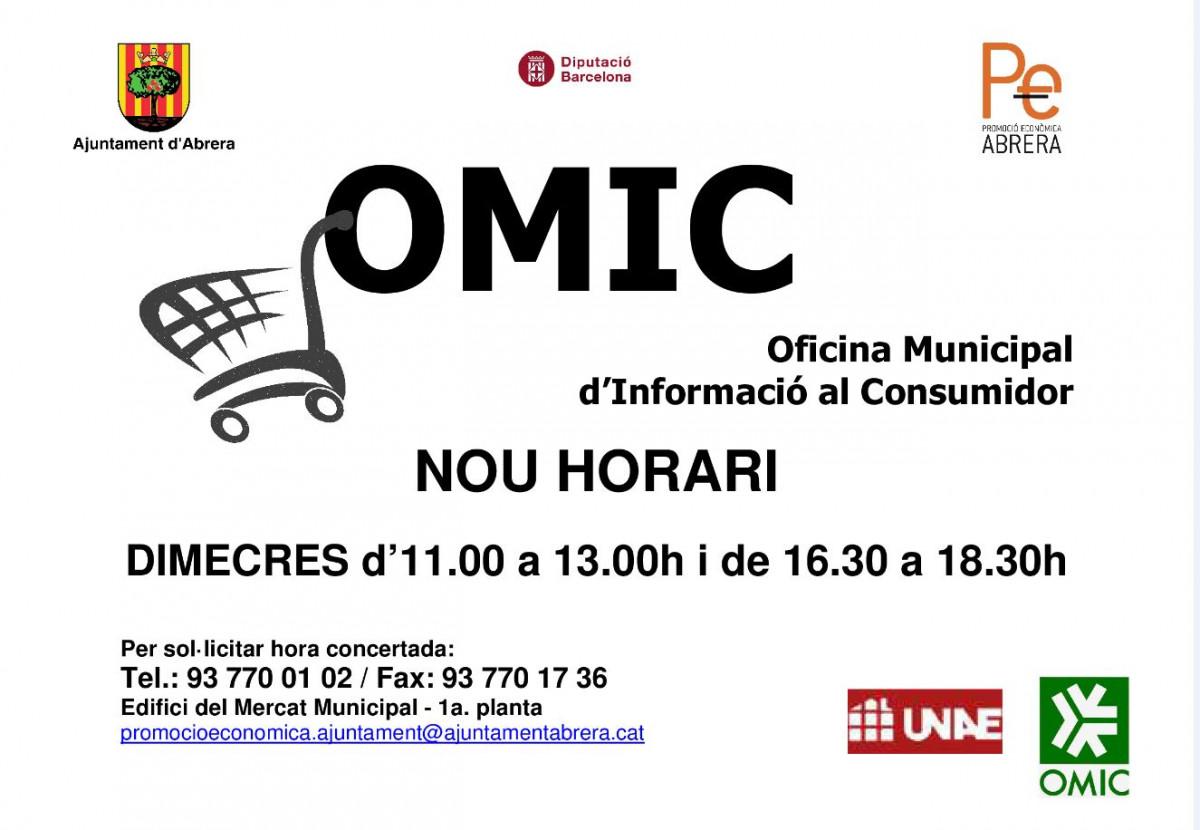 Omic oficina municipal d 39 informaci al consumidor for Oficina omic